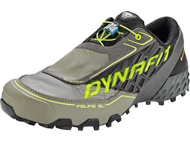 Dynafit Feline SL GTX Schuhe Herren black/neon yellow